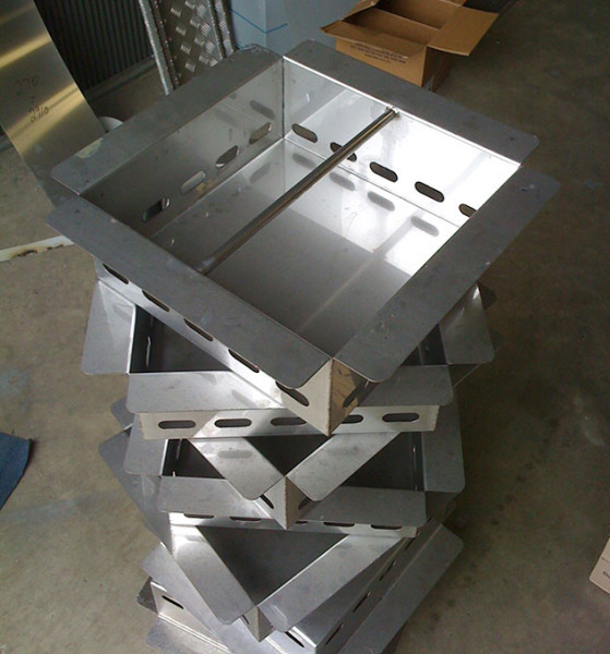 Stacked customized fabricated metals