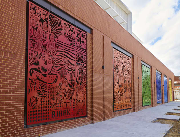 The Six Seasons Art at the Stan & Jean Peron Child Advocacy Centre